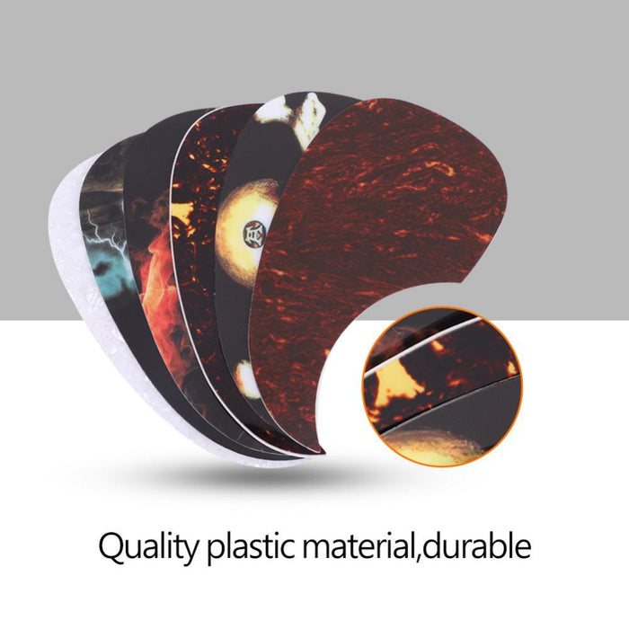 6Pcs Guitar Pickguard Sticker