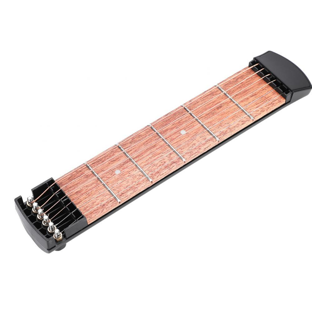 6 String 6 Fret Pocket Guitar Mahogany Fingerboard