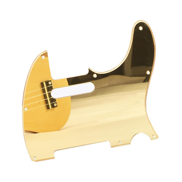 Acrylic Guitar Pickguard-Gold
