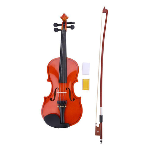 1/8 Size Violin Learner Beginners Kit with Bow + Lightweight Case + Rosin