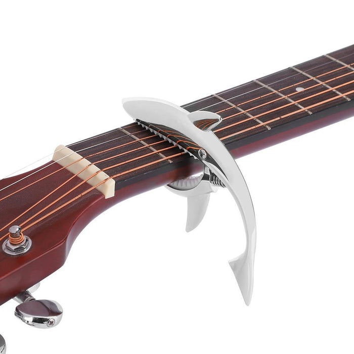 Zinc Alloy Shark Design Guitar Capo Quick Change Clamp