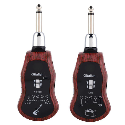 Portable K380C 5 In 1 Wireless Guitar Effects Transmitter Receiver