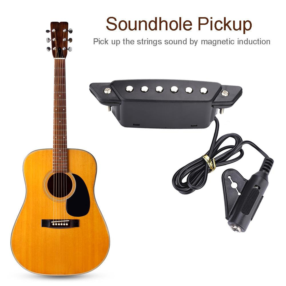 Magnetic Soundhole Pickup for Acoustic Guitar