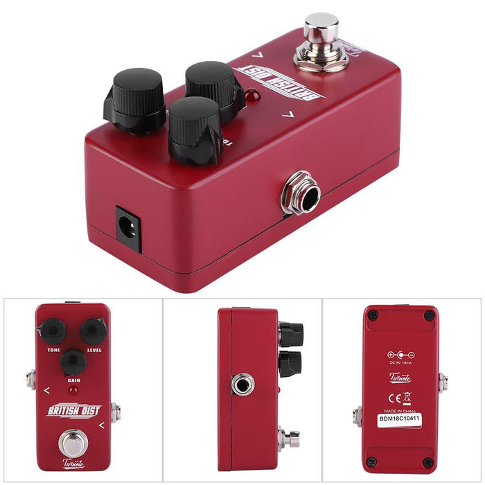 NUX Twinote British Dist Mini Distortion Effect for Electric Guitar