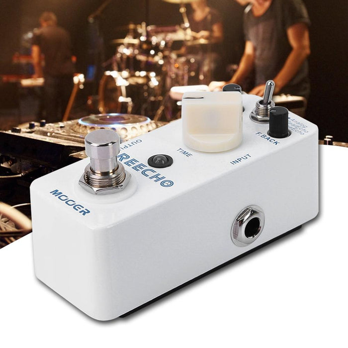 All-metal Housing Digital Delay Distortion Pedal Electric Guitar Accessories