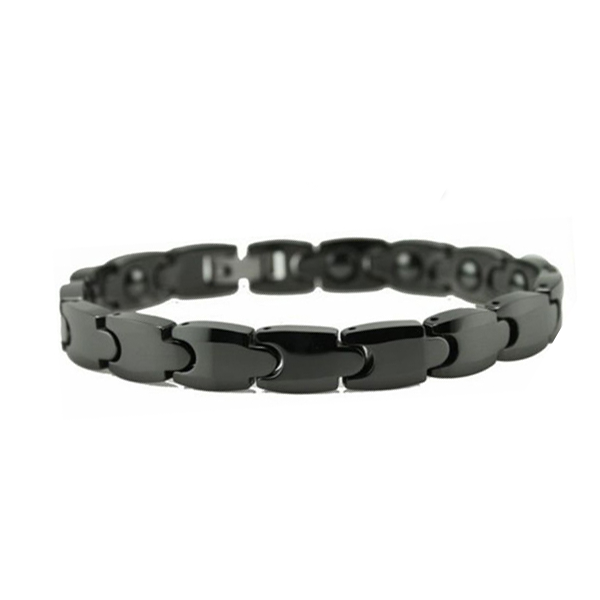 Bold Black Men's Bracelet - Florence Scovel