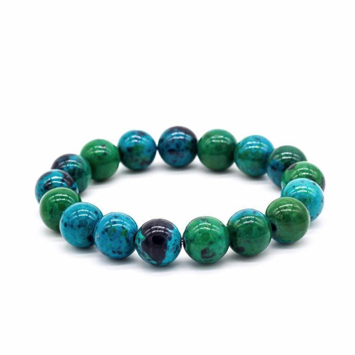 Chrysocolla Earth Stone Bracelet