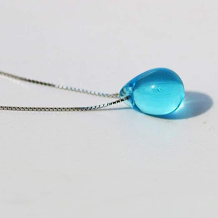 Ocean Drop Necklace - 8 colors available