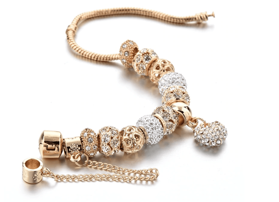 Crystal Charm Bracelet-Limited Edition