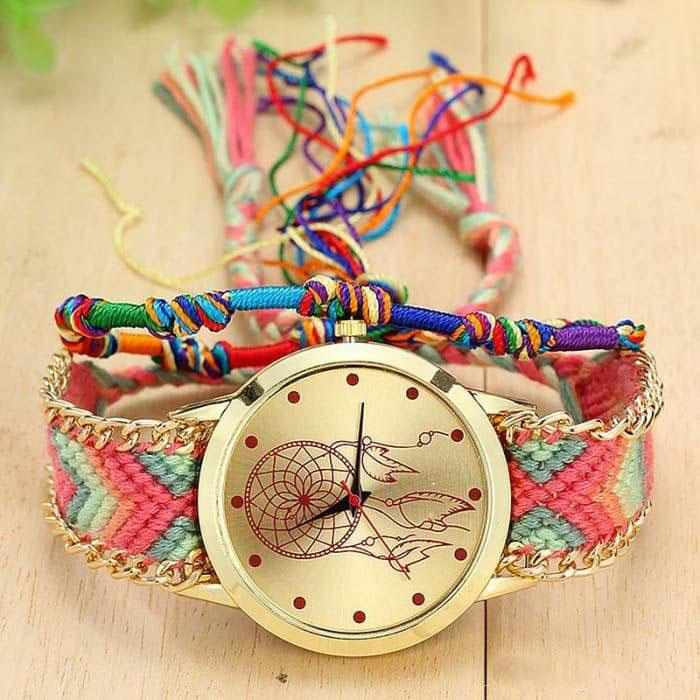 "Woven Watch ""Catch Dream"" - 7 models available"