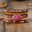beYOUtiful Rhodonite Wrap Bracelet