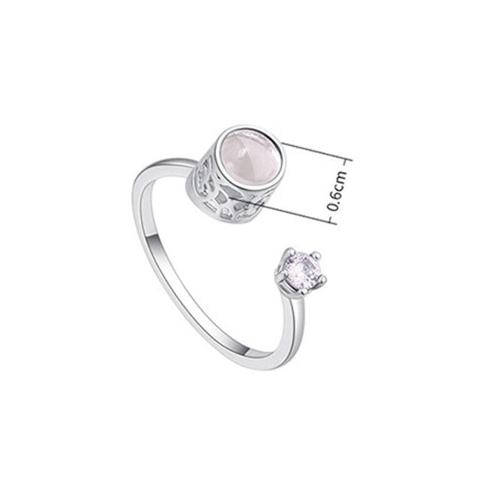 """I Love You"" In 100 Language Charm Projection Ring"