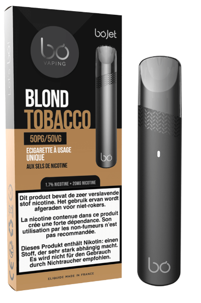 BoJet Disposeable Blond Tobacco