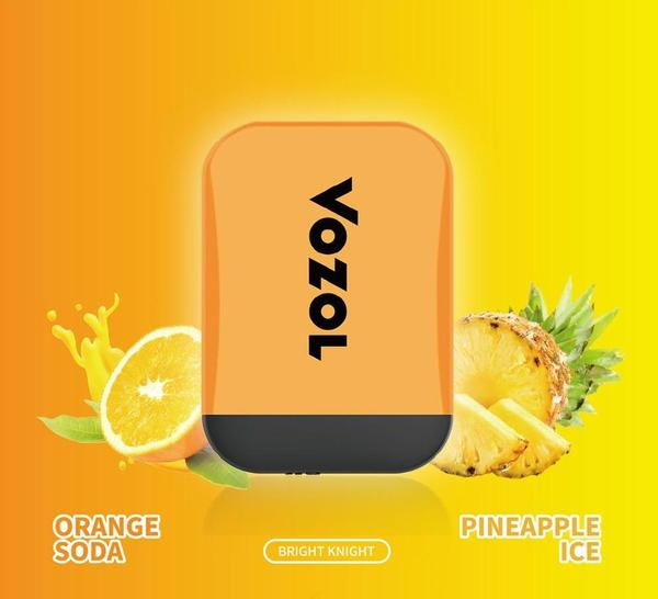 4 Orange Soda  Pineapple Ice