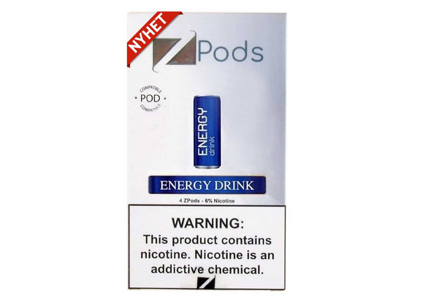 4 STK: ZIIP Pod Energy Drink