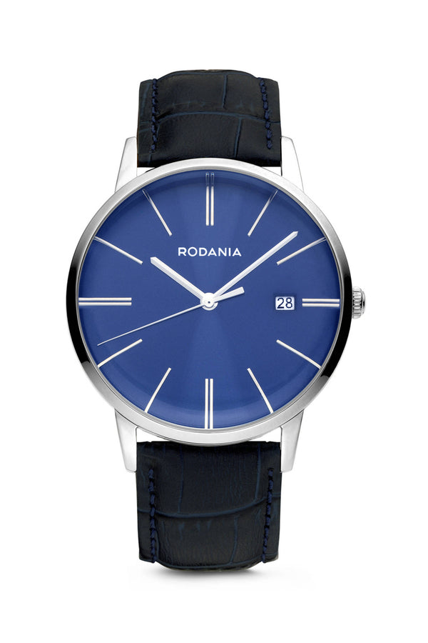 Rodania Legend Quartz 40 mm Zilver Heren