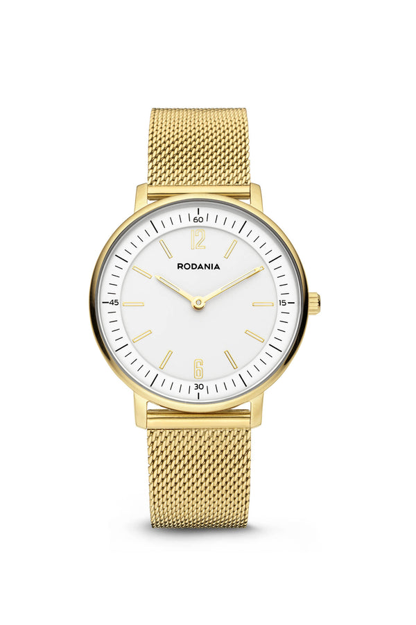 Rodania Manhattan Quartz Goud Dames