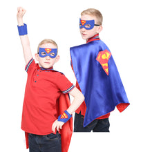5 Superhero Capes for Kids – Includes 5 Capes, Masks and Cuffs