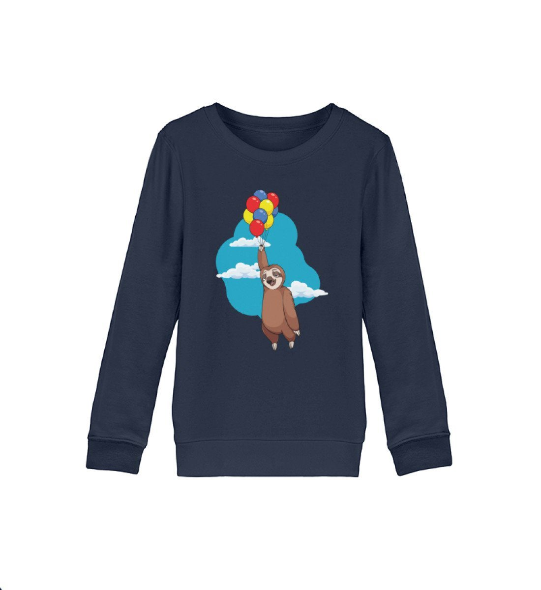 Bio Sweatshirt Kinder Balury Tierbilder French Navy 12/14 (152/164)