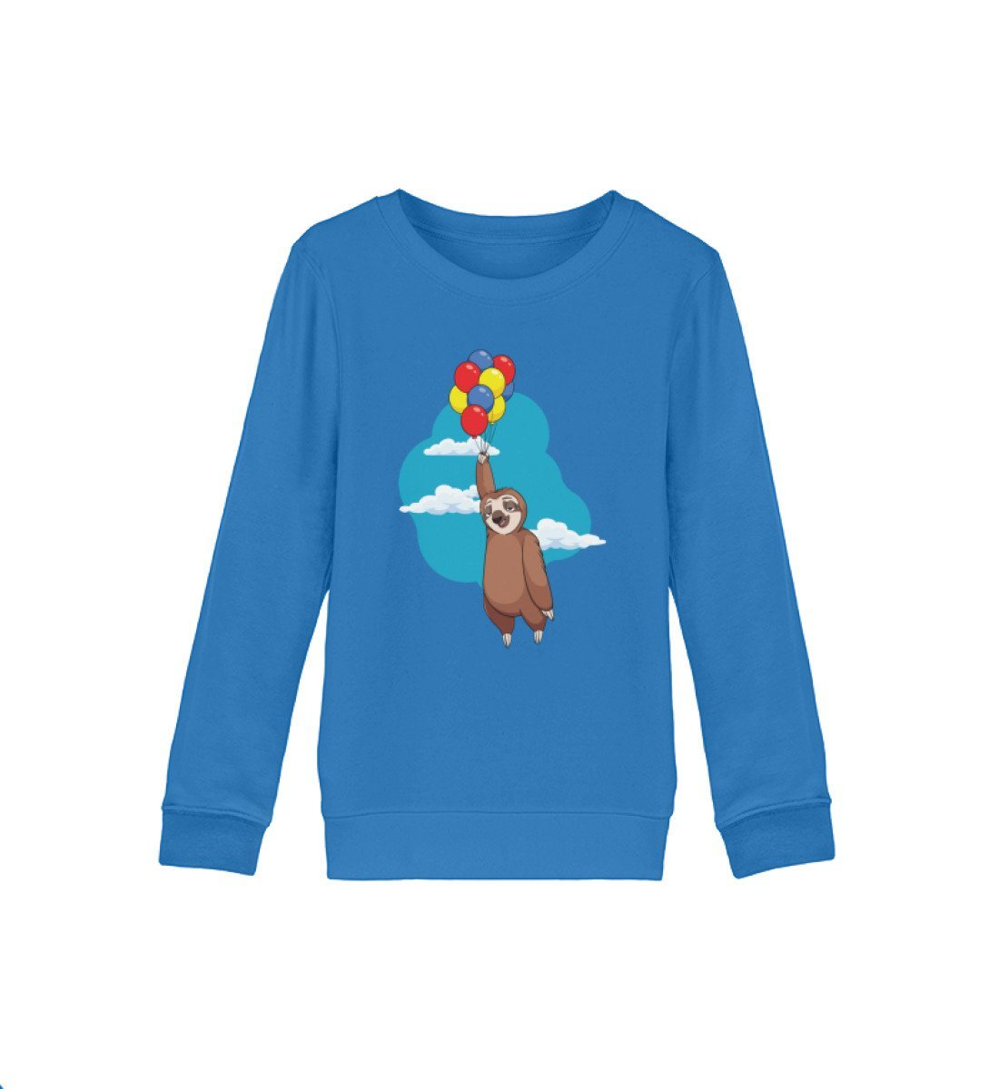Bio Sweatshirt Kinder Balury Tierbilder Royal Blue 12/14 (152/164)