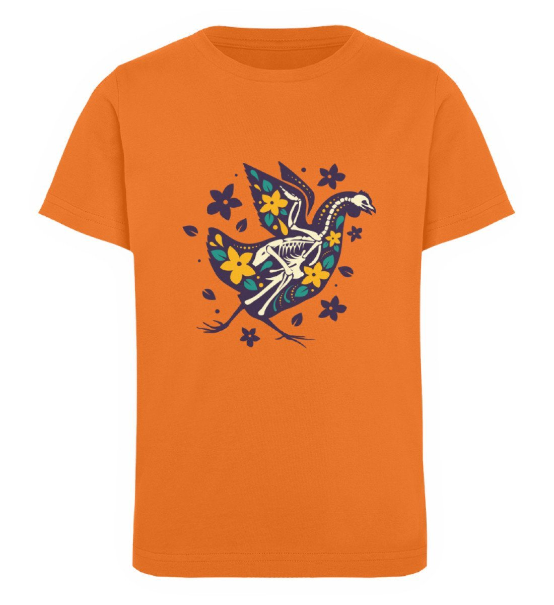 Bio T-Shirt Kinder günstig Balury Tierbilder Bright Orange 12/14 (152/164)