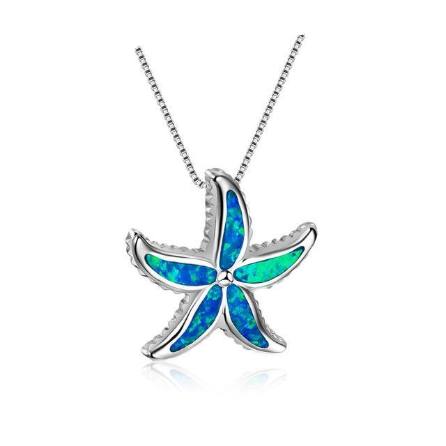 Starfish Blue Opal
