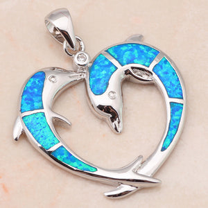 Love Dolphins Pendant
