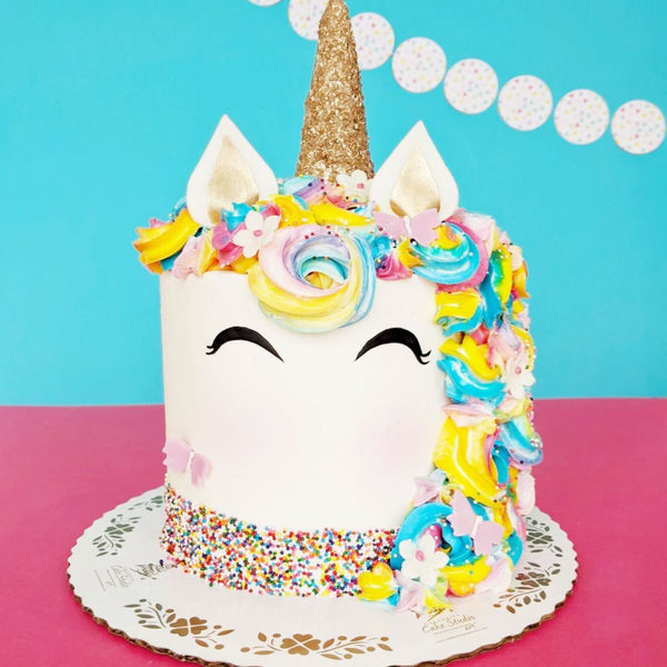 Unicorn Cake Decorating Experience