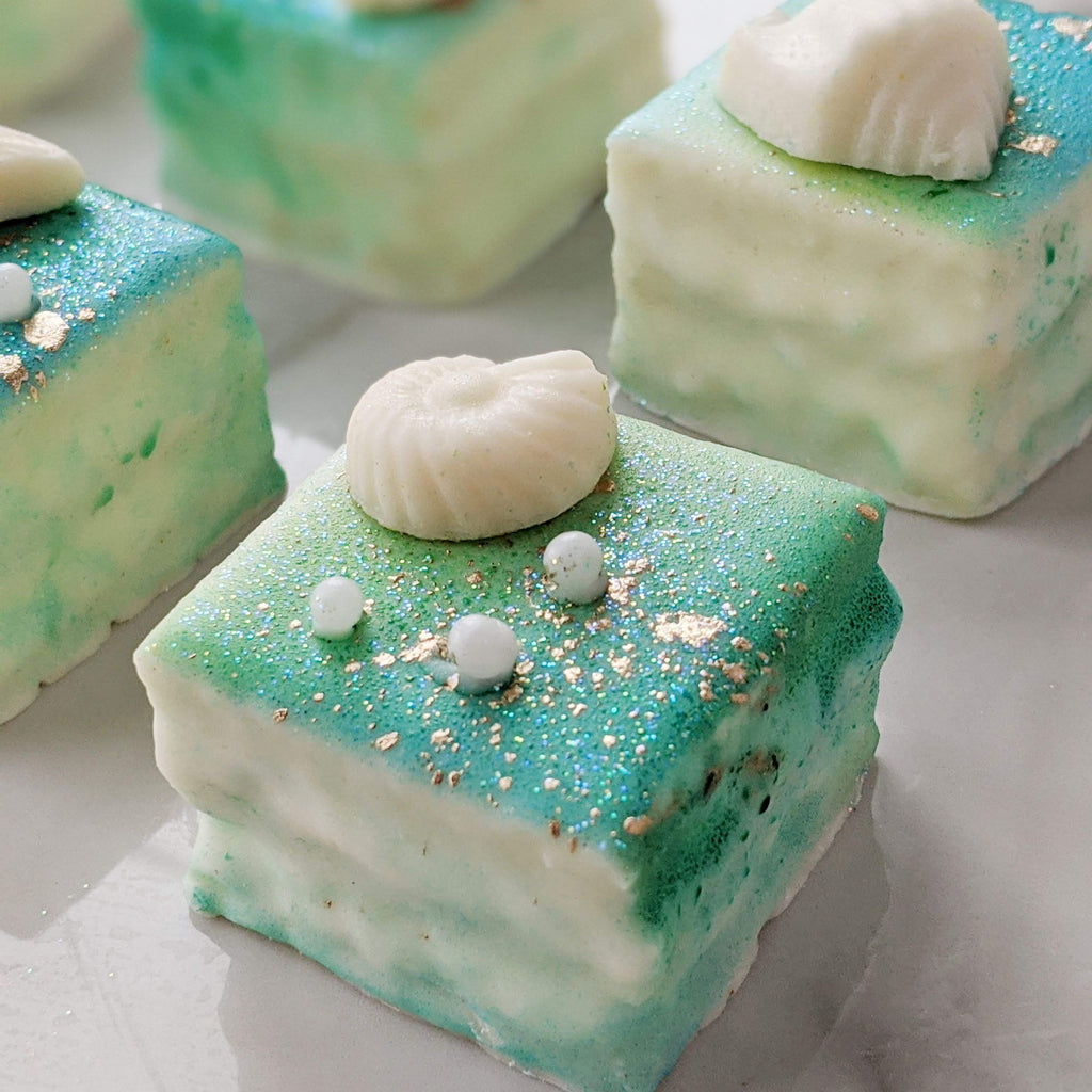 Mermaid Tea Cakes- Magical Collection