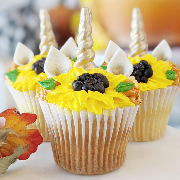 Autumn Unicorn Cupcakes - Magical Collection