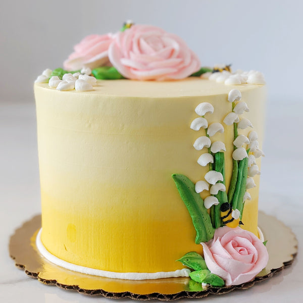 Spring Lemon Berry Cake
