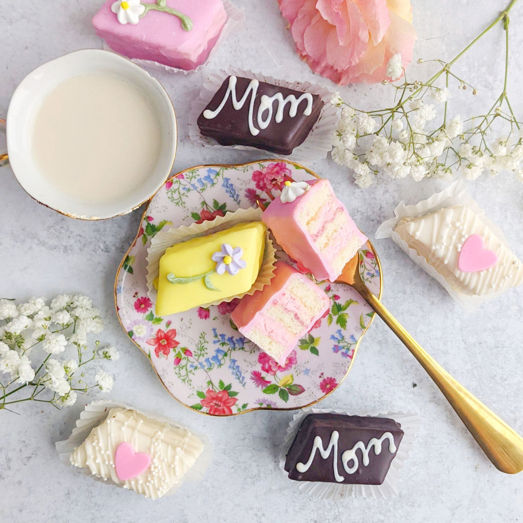 Mother's Day Petits Fours Cakes - 12 pack
