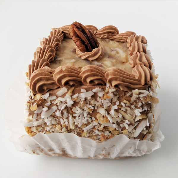 German Chocolate Square