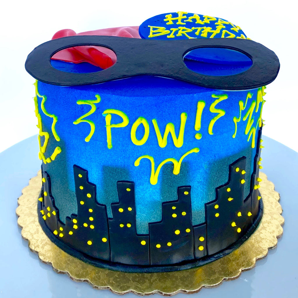 Super Hero Cake - Imagination Collection