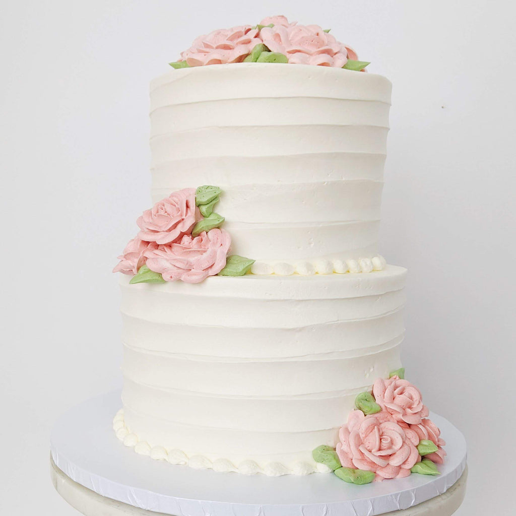 Wedding Cake Two-tiered