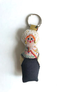 Le Porte-Clef COURGUINOSHKA Lace key ring