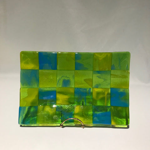 8x12 handmade glass plate