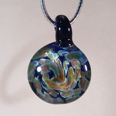 Handmade glass pendants