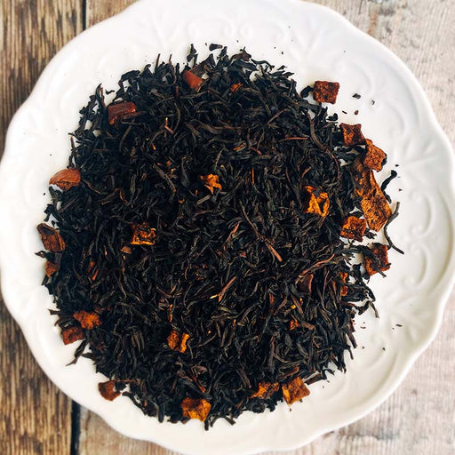 organic apple black tea