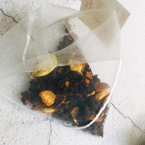 exotic chai tea bag