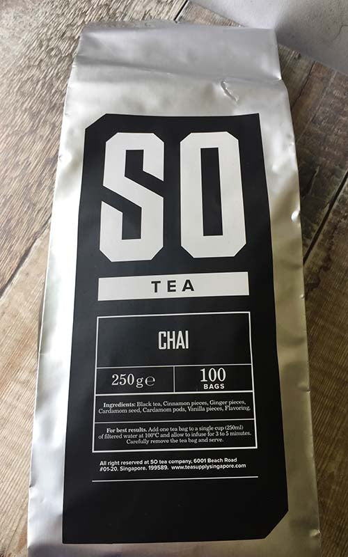 exotic chai tea singapore