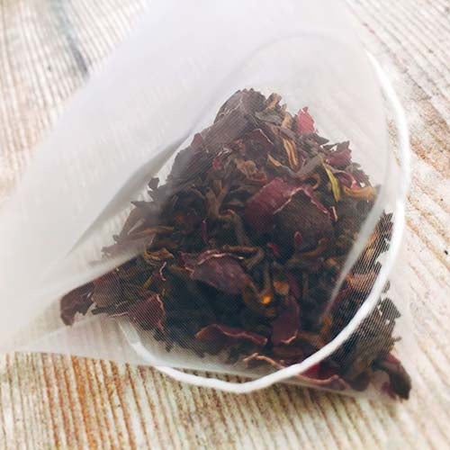 extraordinary rose pu erh chinese flower tea bag