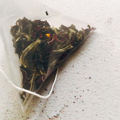 rose flower white tea