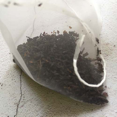 Organic English Breakfast pyramid tea bag