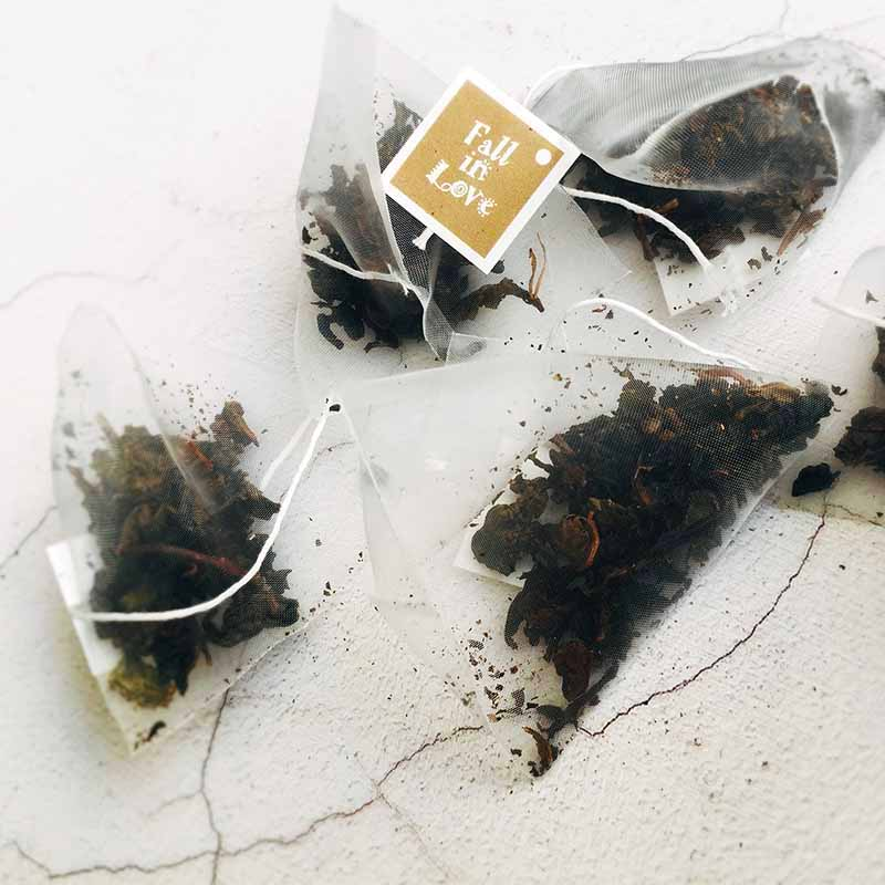 organic oolong chinese tea bag