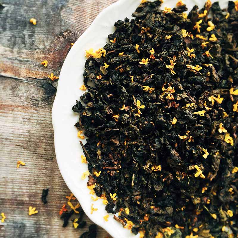 osmanthus oolong tea chinese flower tea