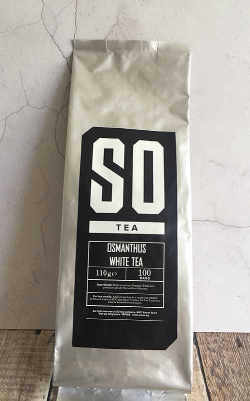 osmanthus flower white tea singapore