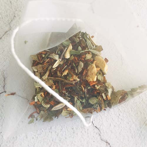 rooibos herbal tea bag