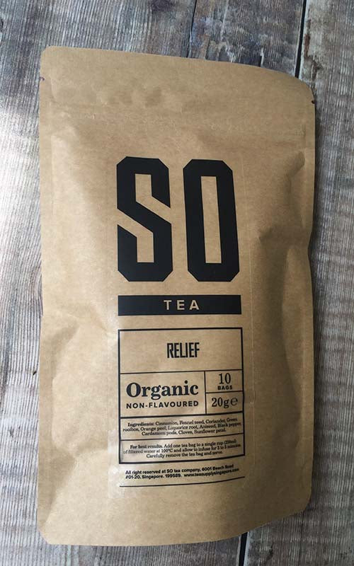 organic herbal relief tea shop