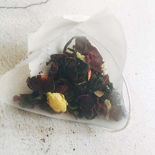 jasmine rose flower tea bag